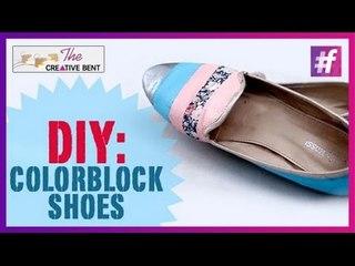 DIY : Colorblock Shoes