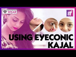 How to use Lakme Eyeconic White Kajal | Video Tutorial by Aanam C