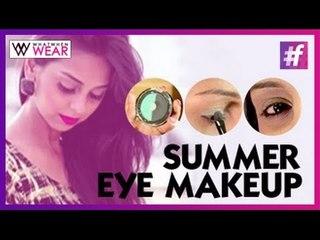 Summer Cool Eye Makeup Tutorial by Aanam C