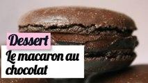 Macaron au chocolat facile - Recette goûter