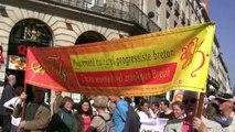 20/09/2008 à Nantes, manifestation pour la défense des pratiques amateurs et pour le retour de la Loire Atlantique en Bretagne.