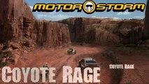 Motorstorm gameplay Coyote Rage sony ps3 2007 HD Part 2