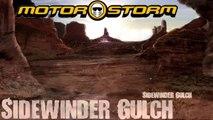 Motorstorm gameplay Sidewinder Gulch sony ps3 2007 HD Part 6