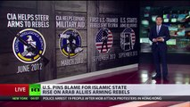 US pins blame for ISIS rise on Arab allies arming rebels