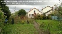 A vendre - maison - SAINT FARGEAU PONTHIERRY (77310) - 4 pièces - 80m²