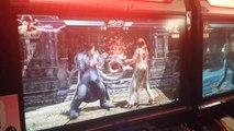 Tekken 7 Gameplay - Kazuya vs Katarina