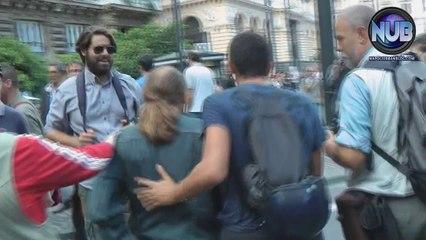 #BlockBCE Napoli - Rilascio arrestato
