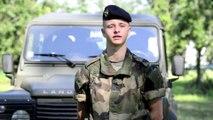 Portrait d'aviateur : militaire du rang fusilier commando de l'air