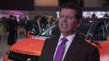 Jaguar in Paris 2014 - Interview Gerry McGovern - Design Director and Chief Creative Officer, Land Rover