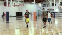 How To Score The Basketball With An Off Foot Finish At The Rim