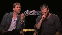 Chris Hemsworth, Chris Evans, Interview MonsieurHollywood.com