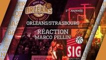 Réaction de Marco Pellin - J02 - Orléans reçoit Strasbourg