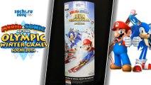 PLV Mario & Sonic aux Jeux Olympiques d'Hiver de Sotchi 2014 wii u