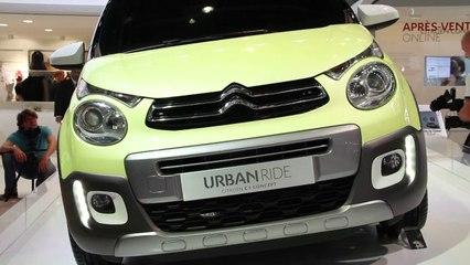 Aperçu d'une vidéo de l'article Citroën C1 Urban Ride concept : le public la veut !