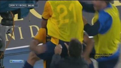 Verona vs Cagliari (1-0) Full Highlights 04/10/2014 ~ Serie A [HD]