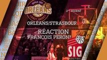 Réaction de François Peronnet - J02 - Orléans reçoit Strasbourg