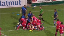TOP14 - Castres-Grenoble: Essai Anthony Hegarty (GRE) - J8 - Saison 2014/2015