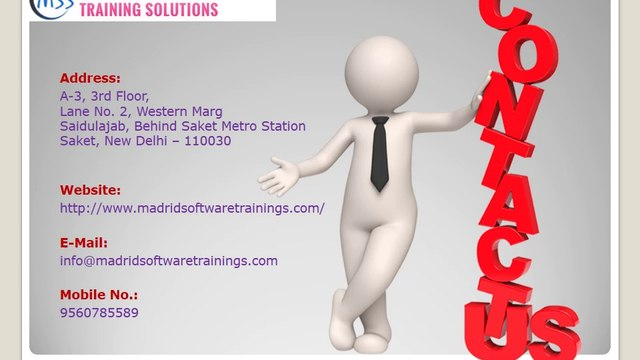 Madrid Software Trainings - Professional Training for softwares