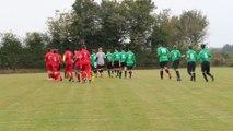 04/10/2014 : U18 contre Forcé, entrée des joueurs sur le terrain