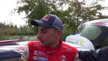 Stéphane Lefebvre champion du monde junior des rallyes 2014 à Strasbourg