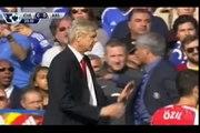 Arsene Wenger VS Jose Mourinho - Wenger pousse Mourinho