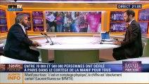 """Alexis Corbière invité à """"News Week-end"""" sur BFM réagit à la manif pour tous le 05/10/2014"""