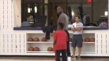 Basket : À 9 ans, le fils de LeBron James régale depuis le milieu du terrain !