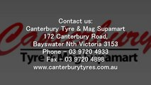 High Performance 4x4 And 4wd Tyres At Canterbury Tyre & Mag Supamart