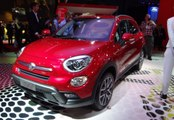 Fiat 500X Compact SUV Crossover Unveiled !