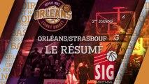 Résumé - J02 - Orléans reçoit Strasbourg