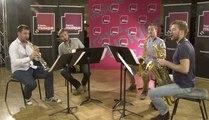 Le Quatuor à cordes de Maurice Ravel, arrangement par le Quatuor Morphing | Le live de la matinale