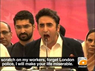 Bilawal Warns Altaf on 'Namaloom Afrad'