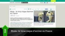 Top/Flop : le virus Ebola bientôt en France ?, les photos privées d'une actrice de Plus Belle La Vie