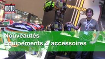 Casques, gants, vestes moto, caméra embarquée... les nouveautés équipements de 2015