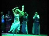 Spectacle de danse orientale présentation des élèves de Beelinda du conservatoire de Sevran 2005