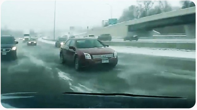 Icy Road Car Spins Out of Control | Blind Spot Check