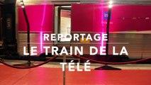"""Reportage - Exposition et souvenirs télévisuels pour le """"Train de la Télé"""""""
