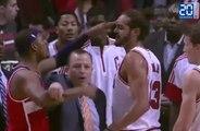NBA: Joakim Noah lance une bagarre lors d'un match de pré-saison