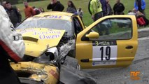 Rallye - Petit miracle en Italie avec une voiture qui évite les spectateurs de très peu