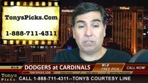 MLB Playoff Free Pick Prediction St Louis Cardinals vs. LA Dodgers Game 4 NLDS Odds Preview 10-7-2014