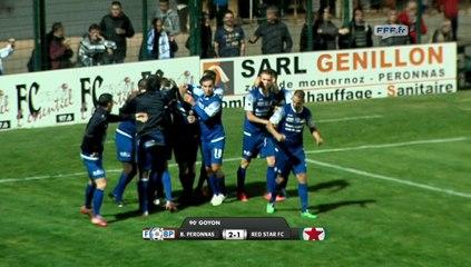 FC Bourg Péronnas 2-1 Red Star (03/10/14)