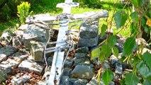 Droga Krzyżowa przy kosciele w Pogórzu
