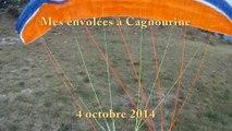 Envolées du 04.10.2014 à Cagnourine