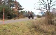 Traktörle drift böyle yapılır