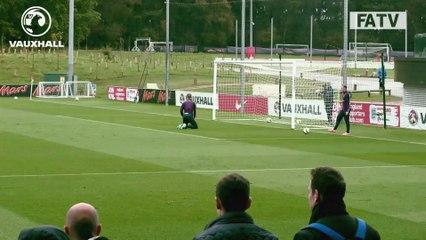 Henderson smashes superb long range goal past Hart | Inside Training
