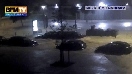 Témoins BFMTV : Impressionnant à Montpellier, des voitures emportées par les flots