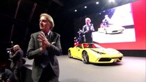 Luca di Montezemolo : discours d'adieu à Ferrari 7 octobre 2014