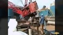 Les plus gros accidents de grues de chantier! Compilation impressionnante.