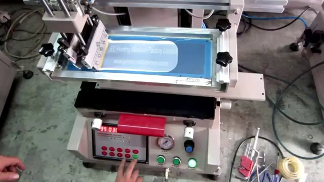 Desktop Flat Screen Printing Machine Mini Flatbed Screen Printer