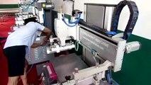 Flat Bed Screen Printing Machine Flat Bed Screen Printer Flatbed Screen Printing